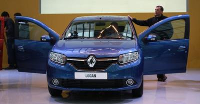 Украина ждет поступления нового Renault Logan!