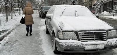 Зима задержится в Украине!
