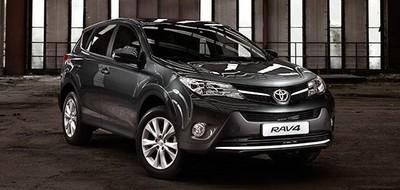 Новый Toyota RAV4 в Украине!