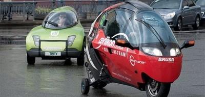 Соревнования на электромобилях в Киеве!