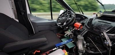 Новая разработка Ford - «Робот» для разбитых дорог!!!