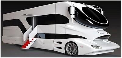 """Самый дорогой дом на колесах от фирмы """"Marchi Mobile""""."""