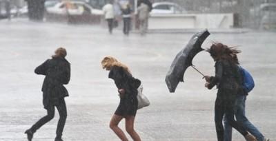 Гидрометцент прогнозирует штормовую погоду до 7.10.13.