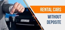 Rental cars without DEPOSIT