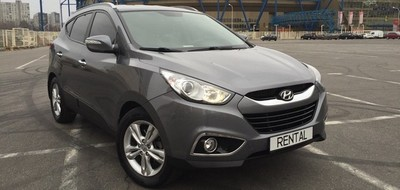 Hyundai ix35  – новинка в автопарке Rental!