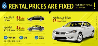 Price is fixed – drive as long as you need!