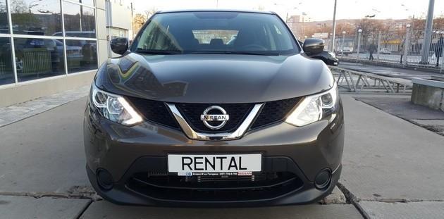 Nissan Qashkai New - новинка Автопроката Rental