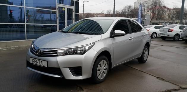 Toyota Corolla New - уже доступна в нашем автопарке.