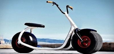 Что будет, если соединить мотоцикл и самокат?