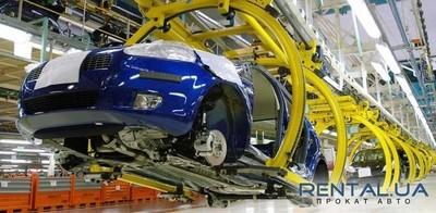В Украине снизился уровень производства авто
