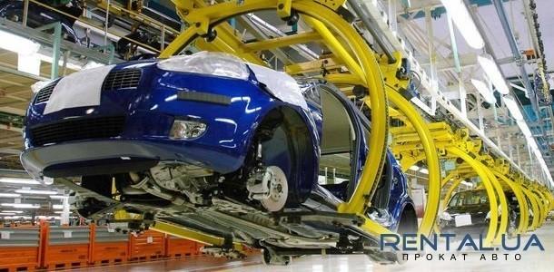 В Україні знизився рівень виробництва авто