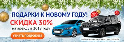 В Новый год с автомобилем!