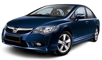Rent a car Honda Civic MT in Kiev