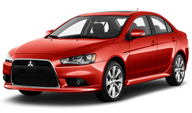 Rent a car Mitsubishi Lancer X AT