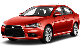 Rent a car Mitsubishi Lancer X AT in Kiev