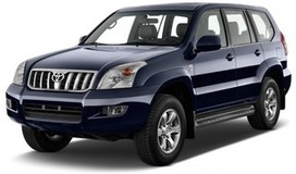Rent a car Toyota Prado