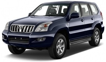 Rent a car Toyota Prado in Kiev