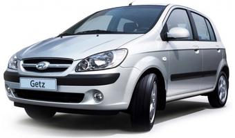 Rent a car Hyundai Getz AT in Kiev