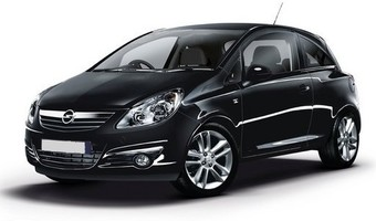 Rent a car Opel Corsa 3d in Kiev