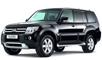 Rent a car Mitsubishi Pajero Wagon in Kiev