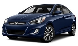 Rent a car Hyundai Accent New in Dnipro