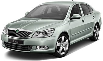 Rent a car Skoda Octavia A5 New in Kiev