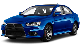 Rent a car Mitsubishi Lancer X MT in Kiev