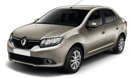 Rent a car Renault Logan New