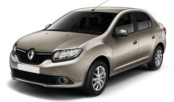 Rent a car Renault Logan New in Kiev