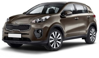 Rent a car Kia Sportage New in Kiev