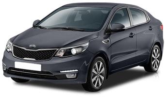 Rent a car Kia Rio New in Kiev