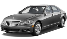 Rent a car Mercedes-Benz S500 in Kharkiv