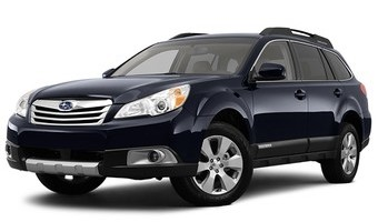 Rent a car Subaru Outback in Kiev