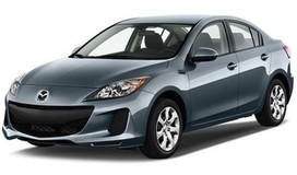 Rent a car Mazda 3 NEW in Kiev