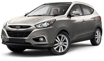 Rent a car Hyundai IX 35 in Kiev