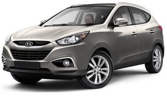 Rent a car Hyundai IX 35 in Kiev