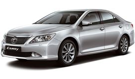 Rent a car Toyota Camry in Dnipro