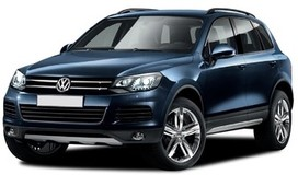 Rent a car Volkswagen Touareg NEW in Kiev