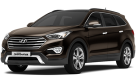 Rent a car Hyundai Santa Fe Grand New in Kiev