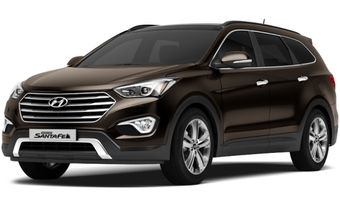 Прокат авто Hyundai Santa Fe Grand New в Днепре