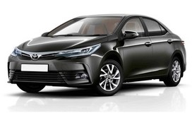 Rent a car Toyota Corolla NEW