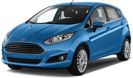 Rent a car Ford Fiesta NEW