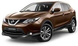Rent a car Nissan Qashqai New in Kiev