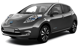 Rent a car Nissan Leaf in Kiev