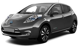 Прокат авто Nissan Leaf в Днепре