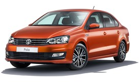 Rent a car Volkswagen Polo Sedan in Kiev
