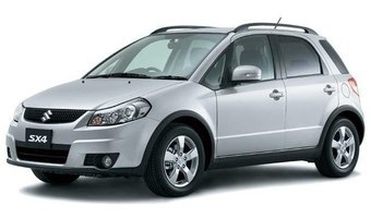 Rent a car Suzuki SX4 in Kiev