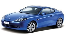 Rent a car Hyundai Coupe in Dnipro
