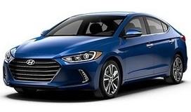 Rent a car Hyundai Elantra 2017 in Odessa