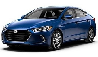 Rent Hyundai Elantra 2017 in Kiev